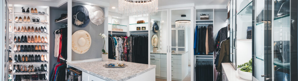 Closet organized by © Final Touch Organizing