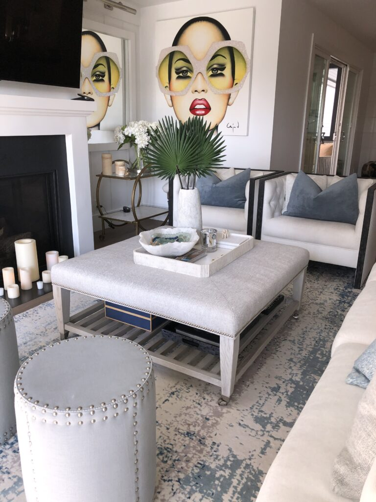 Living Room styled by © Final Touch Organizing