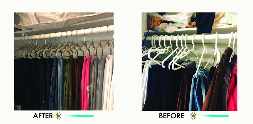 © Final Touch Organizing before and after