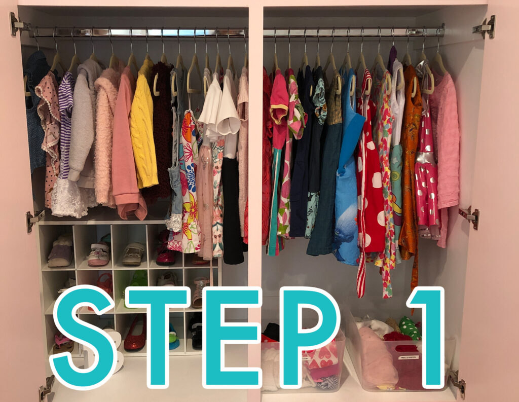 Final Touch Organizing Step 1 © Final Touch Organizing